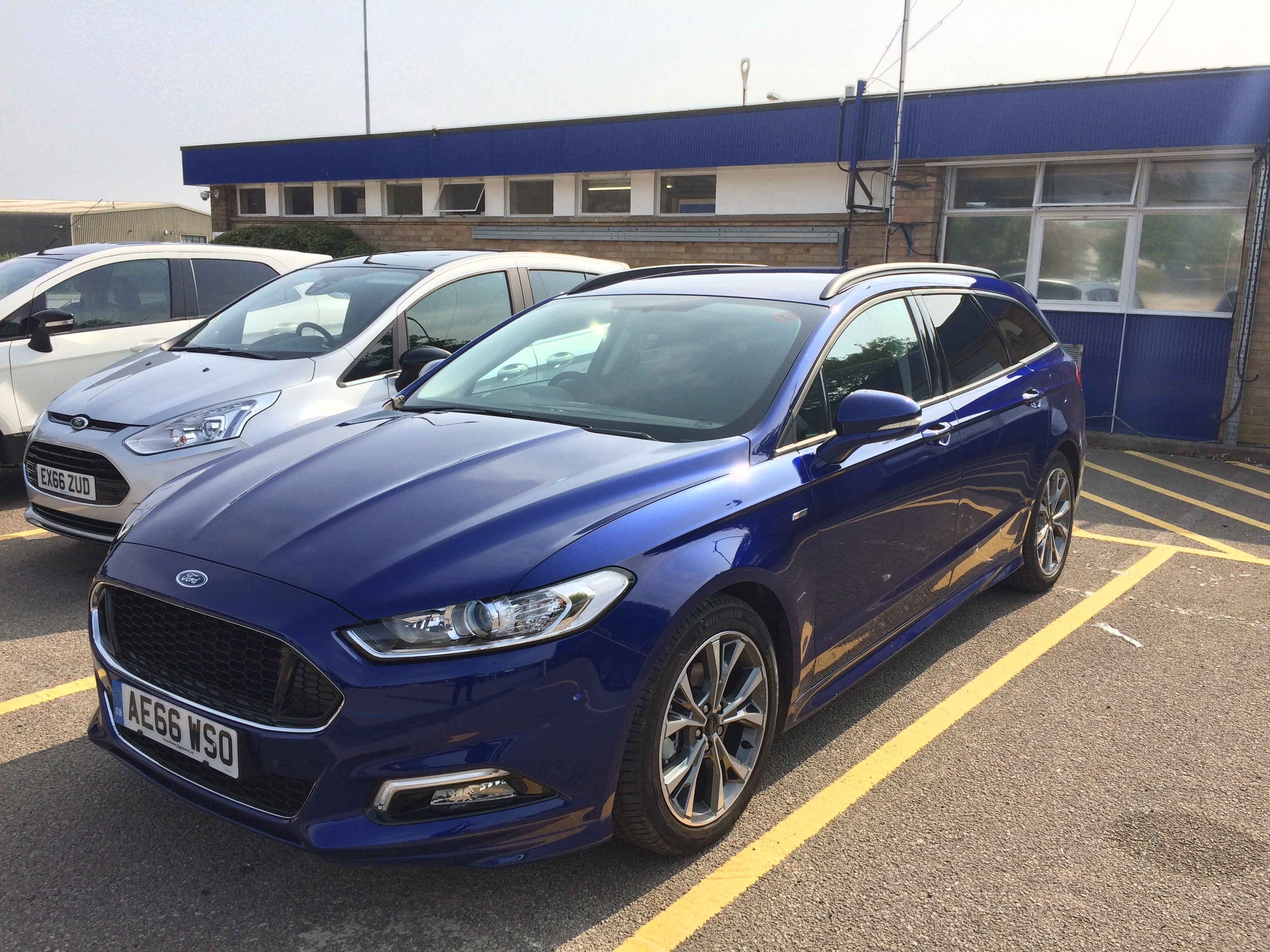 Ford Mondeo St Line Estate 2 0 Litre Tdci 180 Review Car