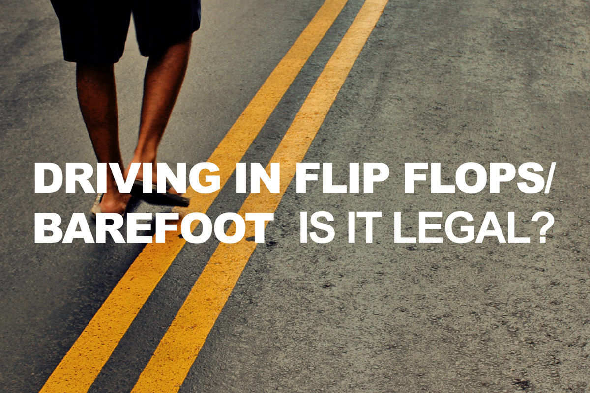 Is Driving Without Shoes On Illegal In The Uk