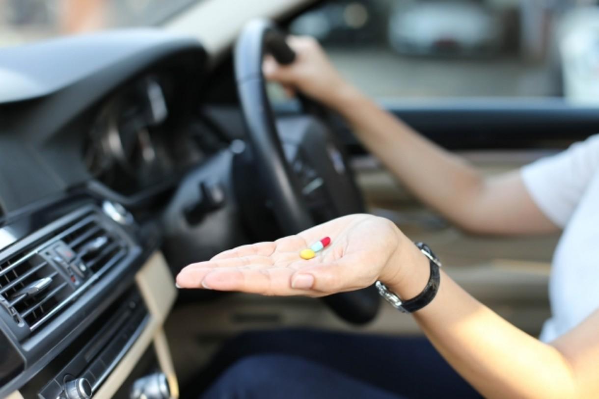 какие таблетки запрещены за рулем