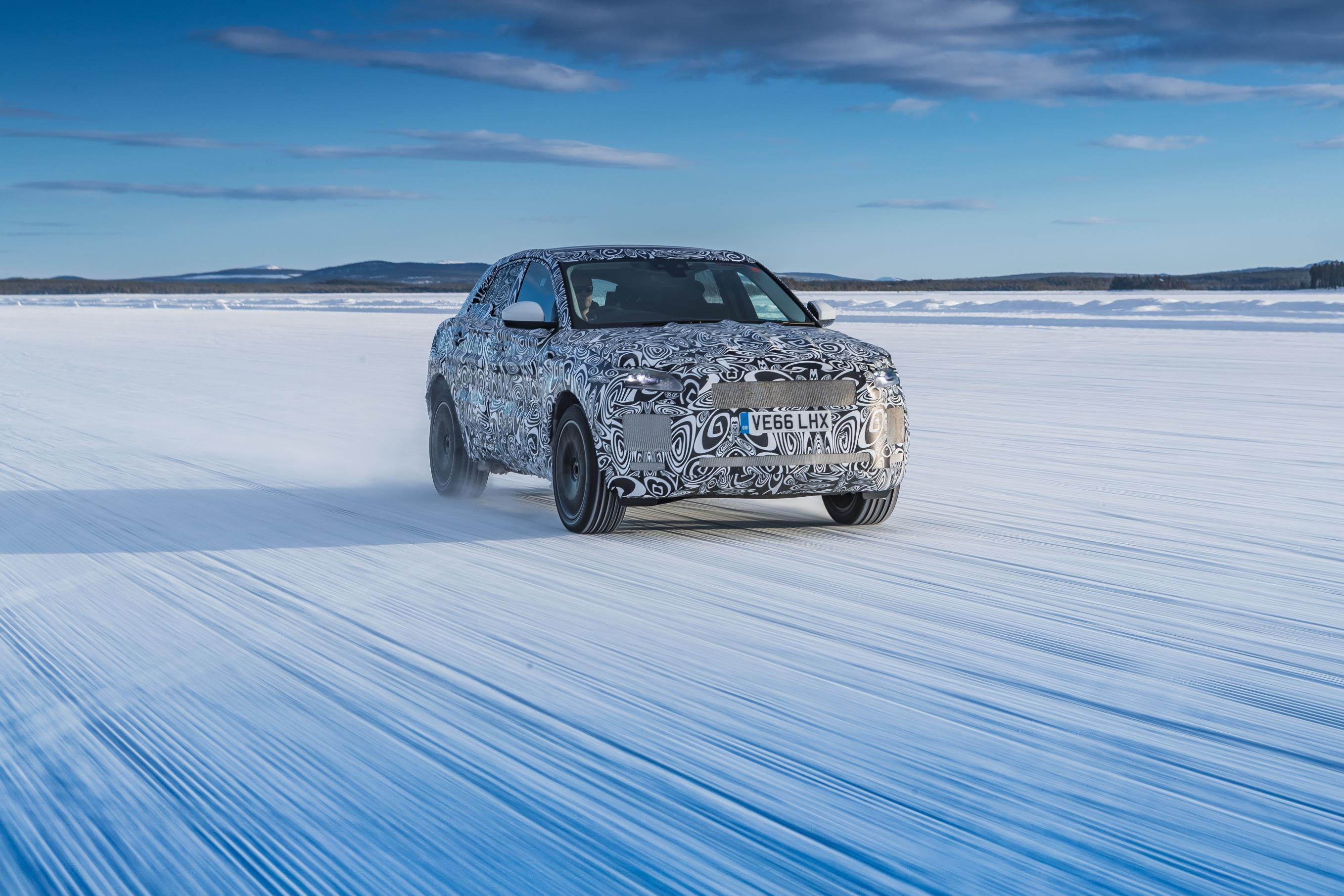 Jaguar E-Pace tested in world's most extreme conditions