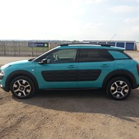 2015 Citroen C4 Cactus Crossover Sideview
