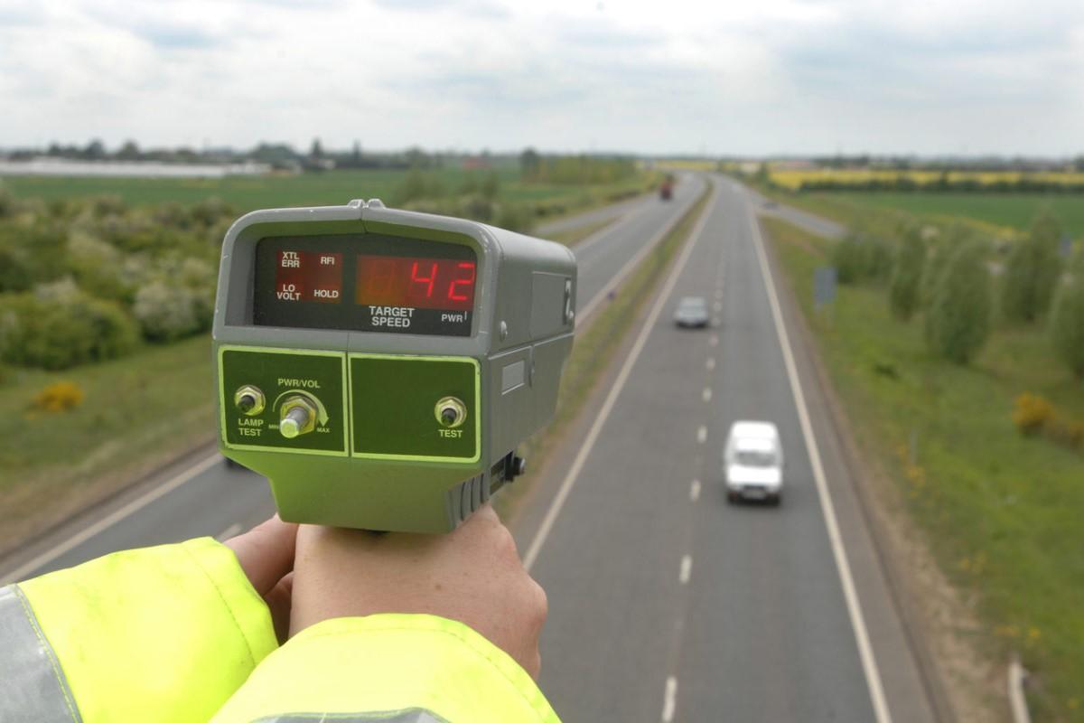 What if a radar speed gun records you speeding? - Car Keys