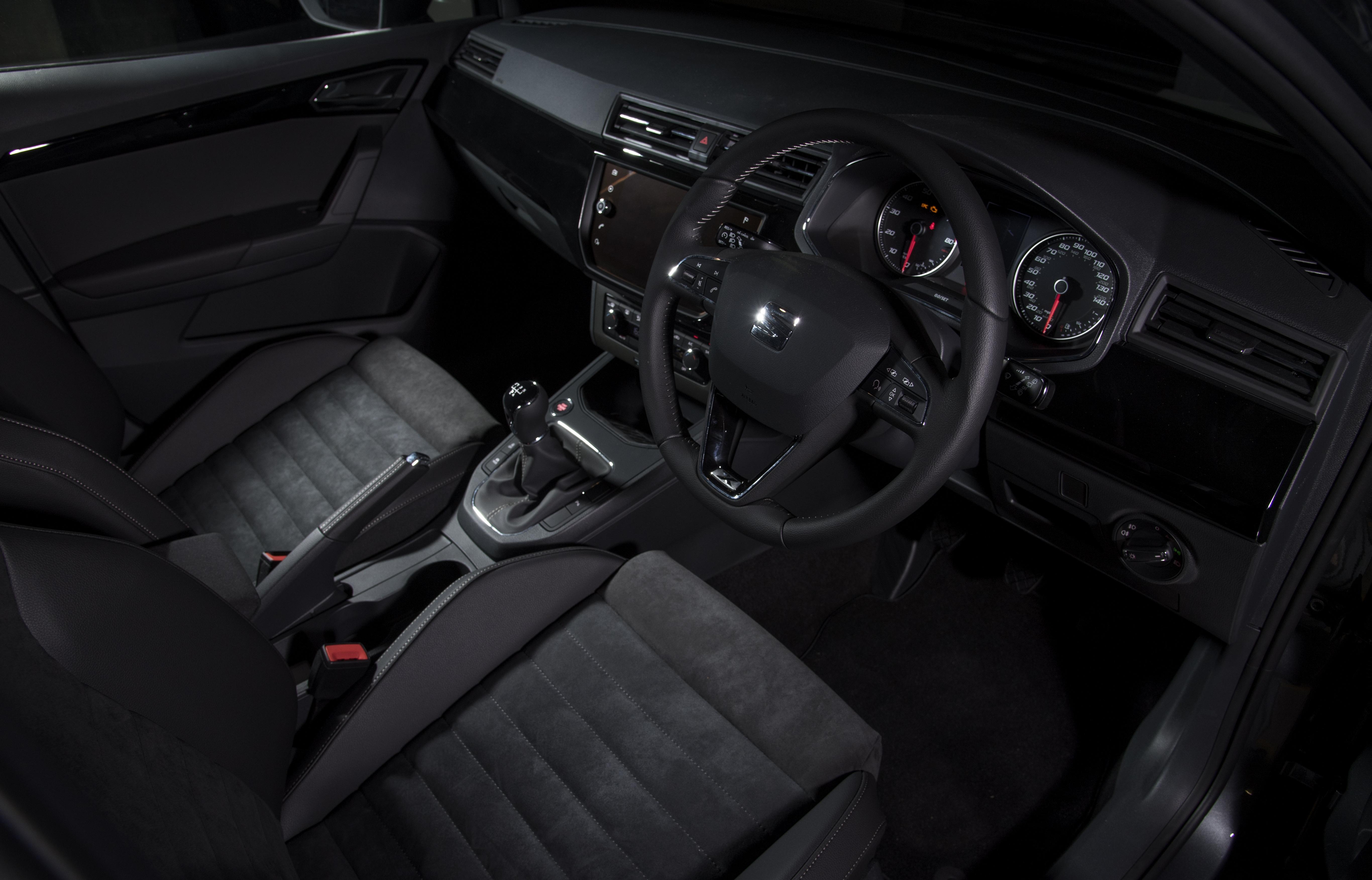 Seat ibiza fr 1 0 tsi 115ps 2017 hatchback review car keys for Interior ibiza 2017