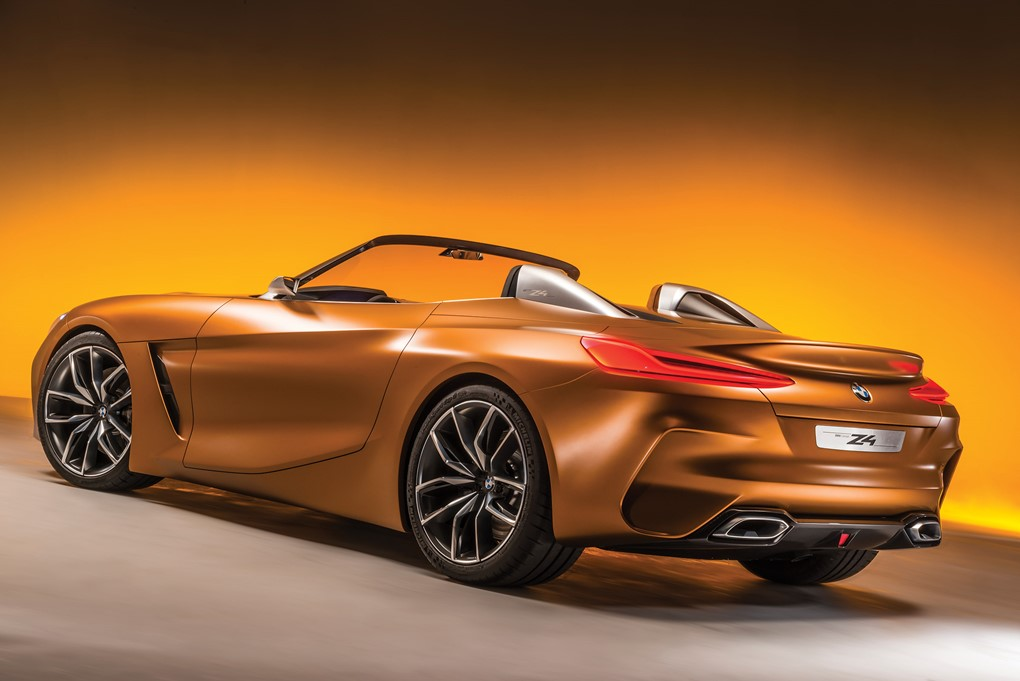 Here Is The 2018 Bmw Z4 Concept Car Keys