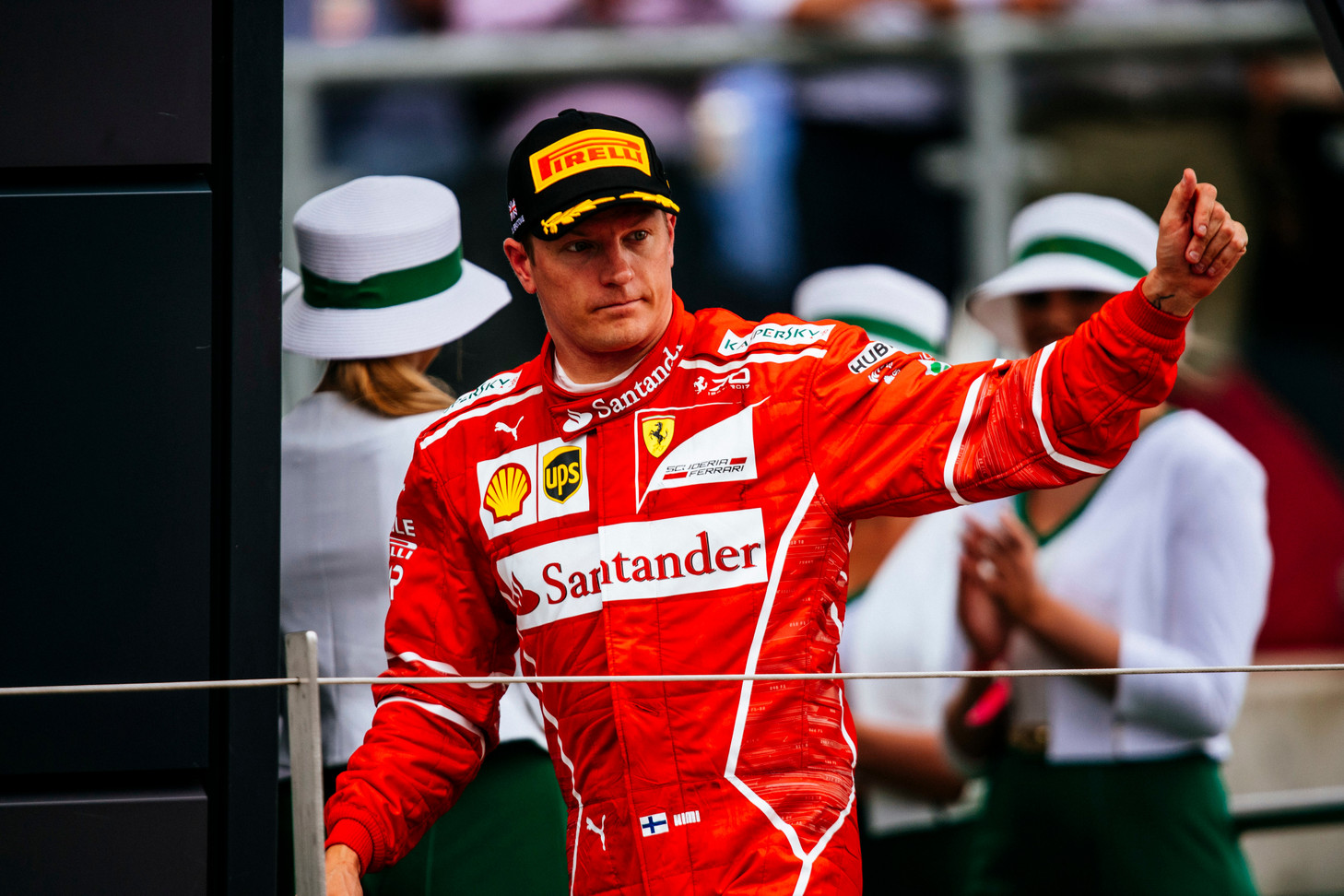 Ferrari retains Raikkonen for 2018 season