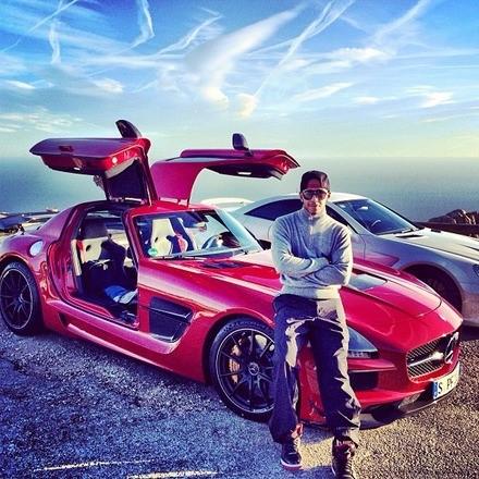 Lewis Hamilton's Mercedes-AMG SLS Black Series