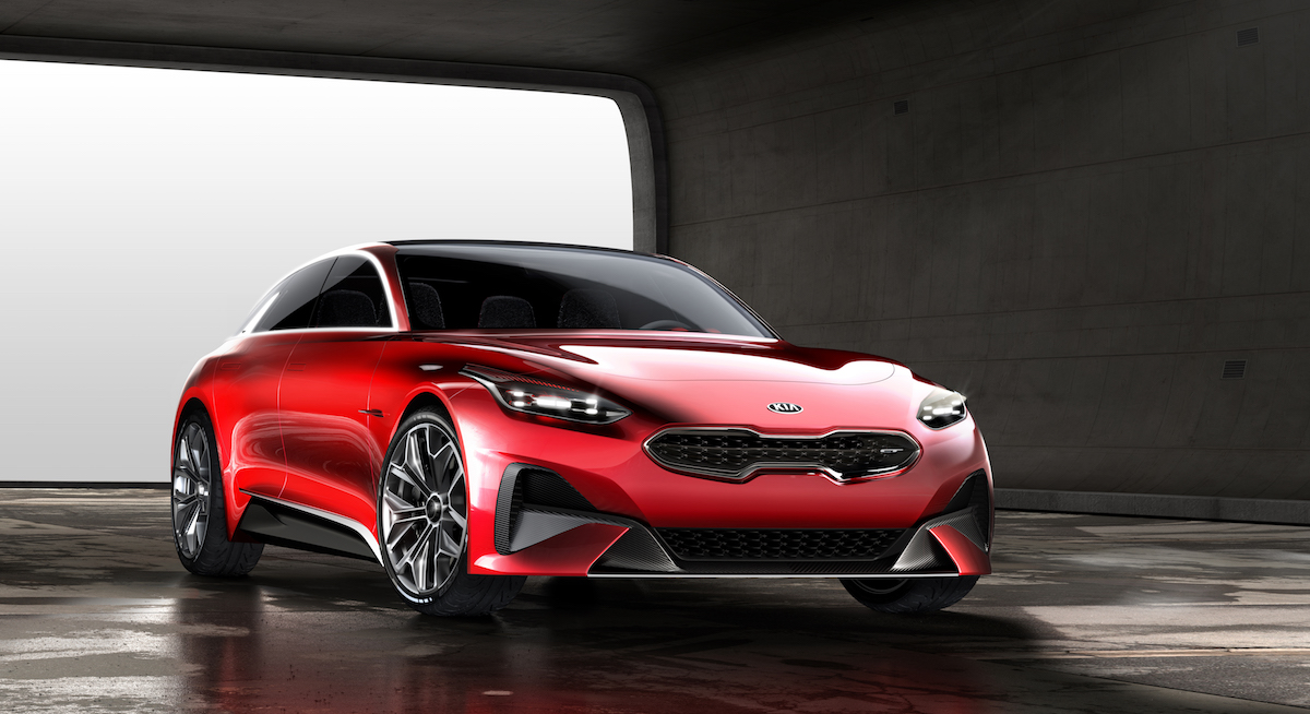 The Want is Real for Kia's Stunning New Wagon Concept