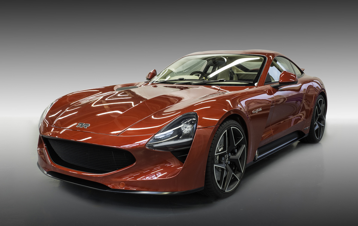 TVR takes covers off 200-mph Griffith supercar