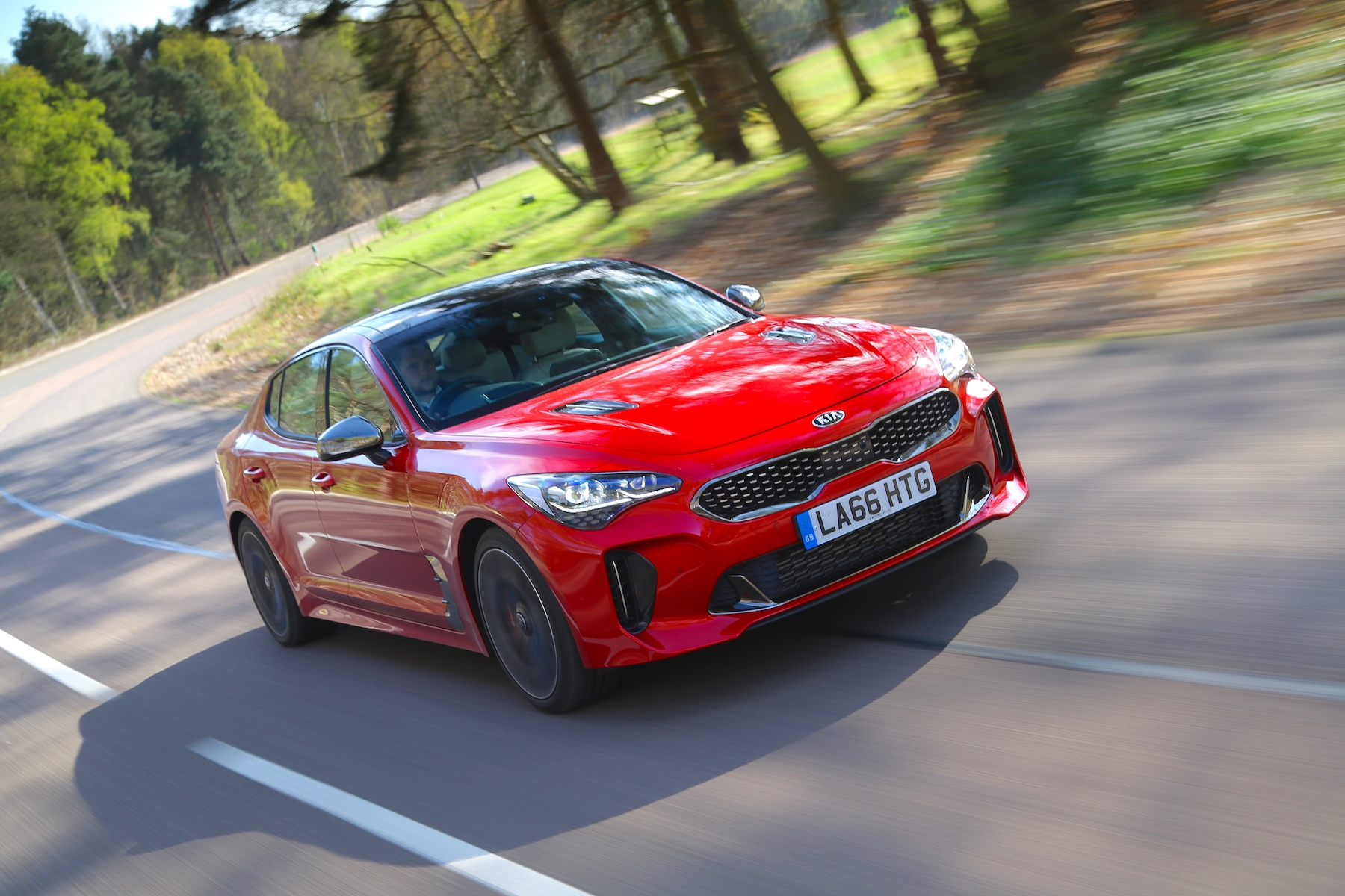 New Kia Stinger priced from £31995