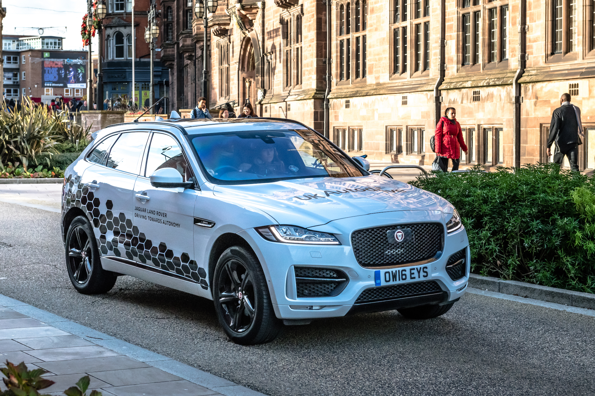 UK's largest autonomous vehicle trial moves onto public roads