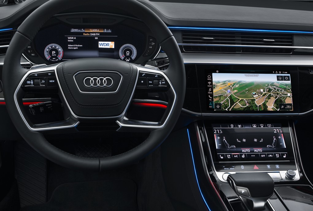 How do i update my audi a5 sat nav
