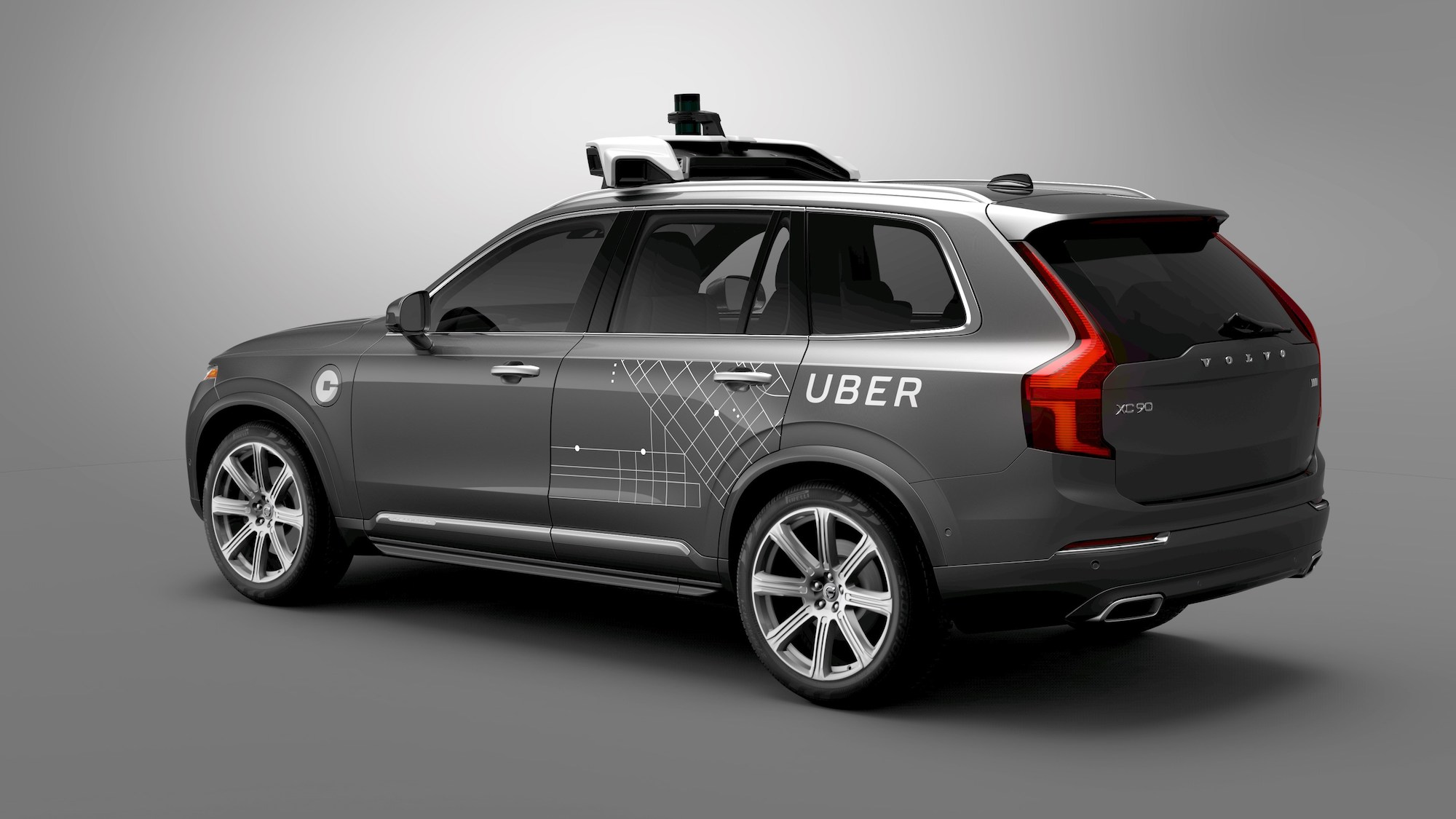 Volvo self driving cars uber