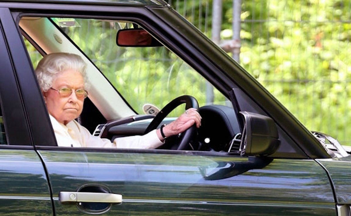 Personal chauffeur for Queen Elizabeth
