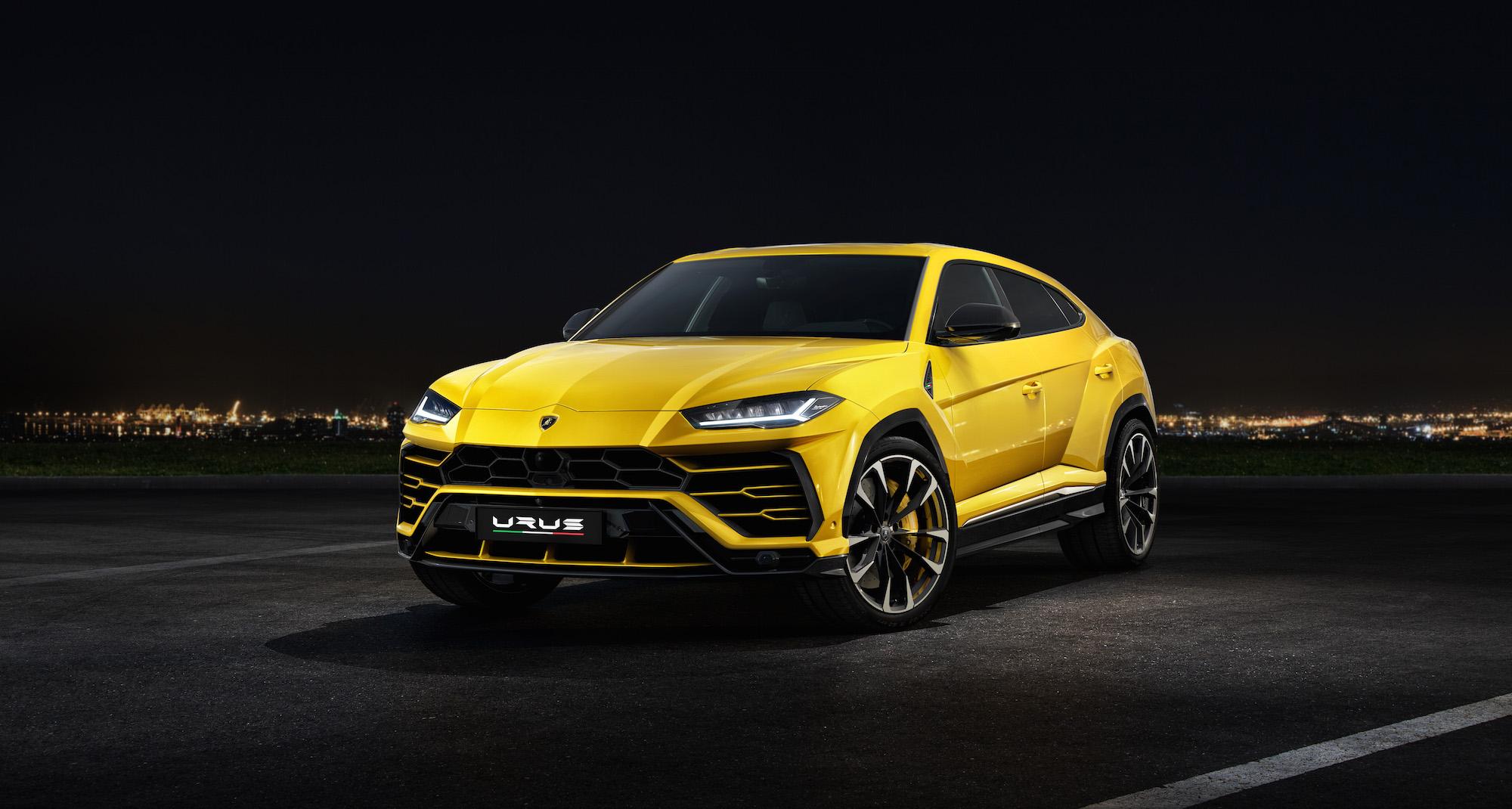 Lamborghini Urus SUV Unveiled