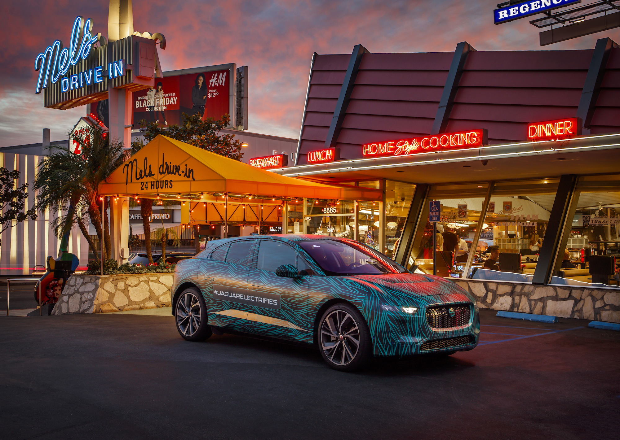 Stylishly Camouflaged All-Electric Jaguar I-Pace Completed Its Testing in Los Angeles