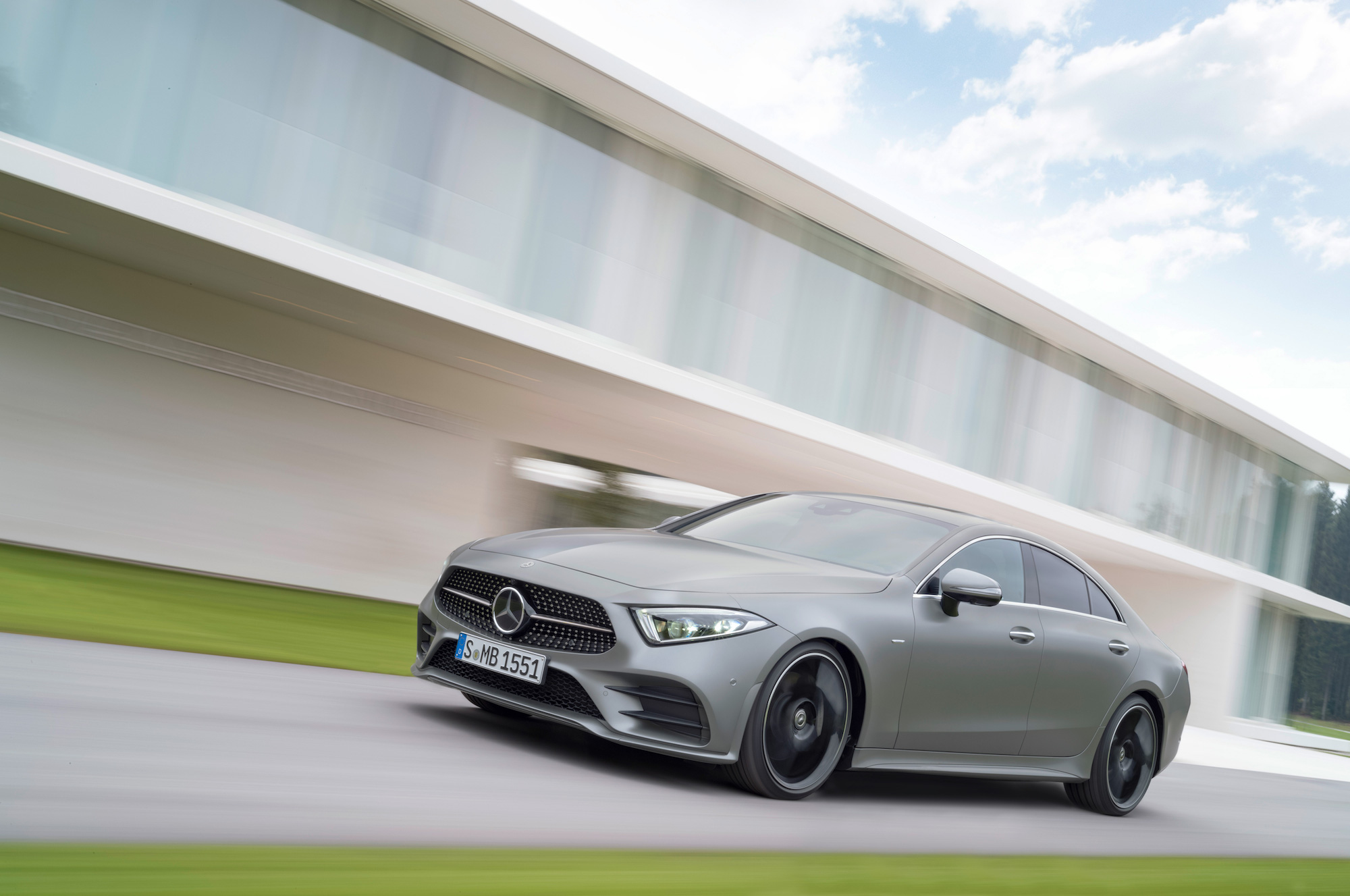 The Mercedes-Benz CLS will start from £57k