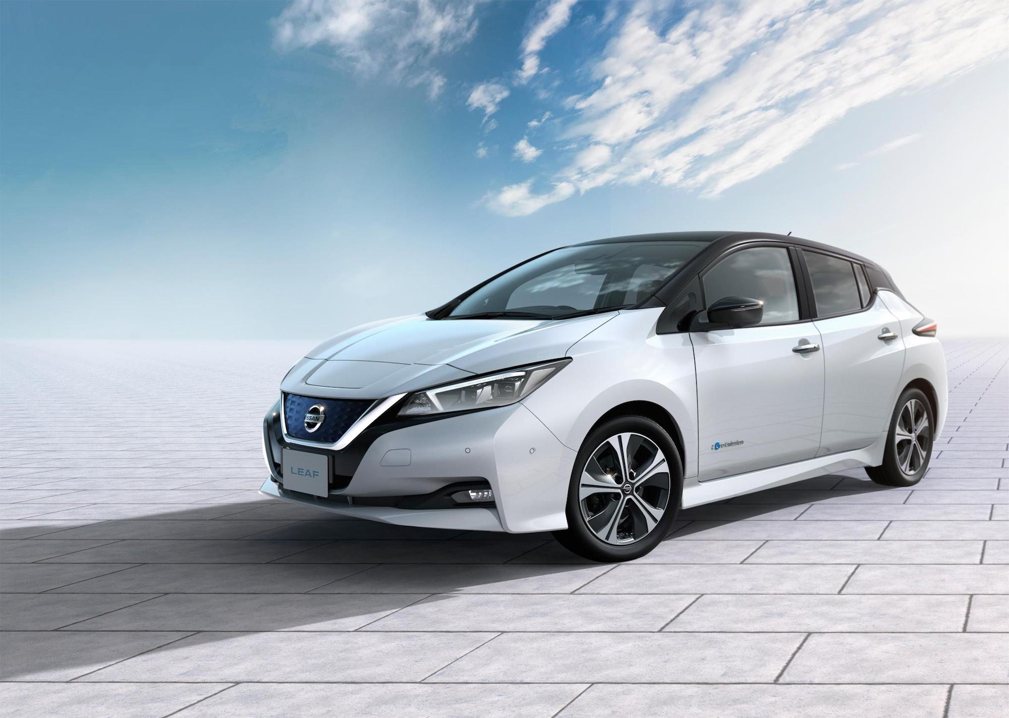 Nissan announces new Leaf prices