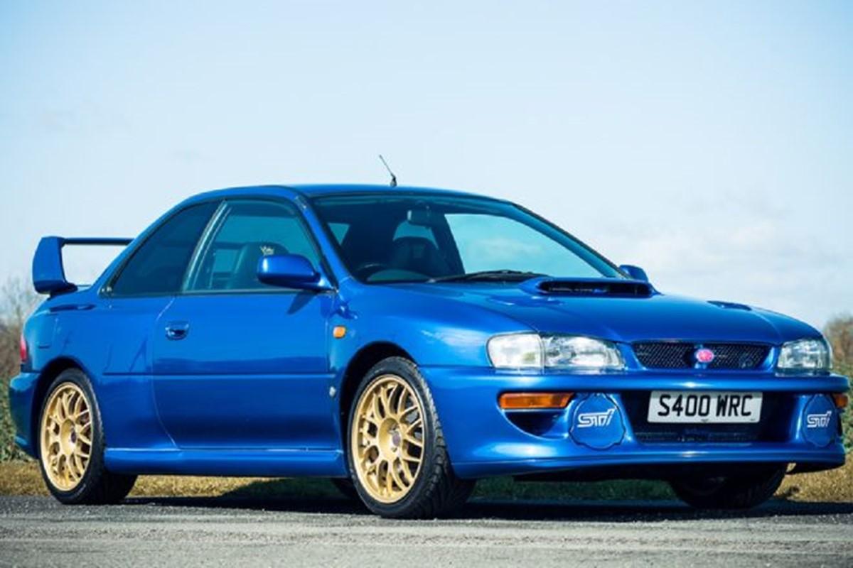 The seven greatest Subaru Impreza WRX models of all time