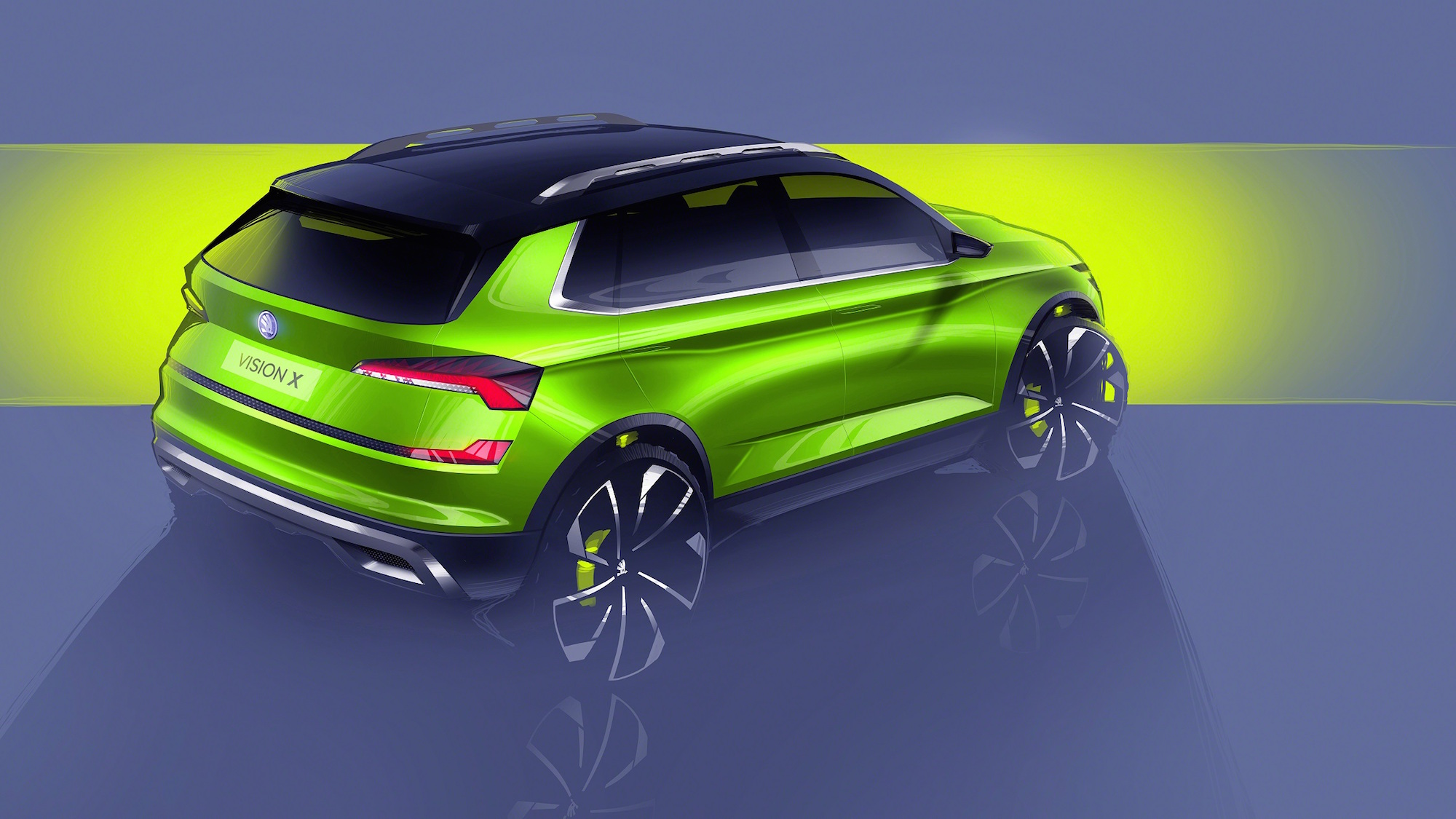 The Vision X shows Skoda's new weeny SUV