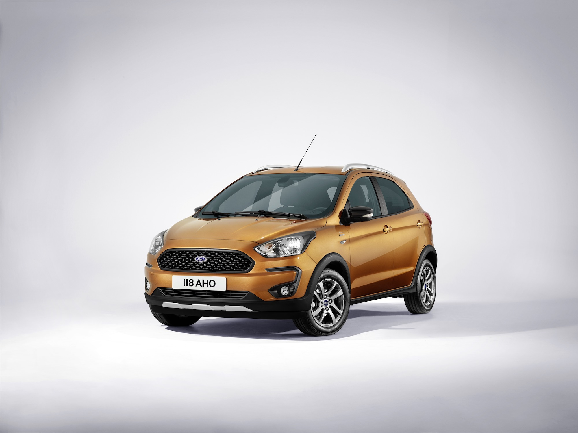 Ford Ka+ Active Crossover heads up titivated Ka+ range