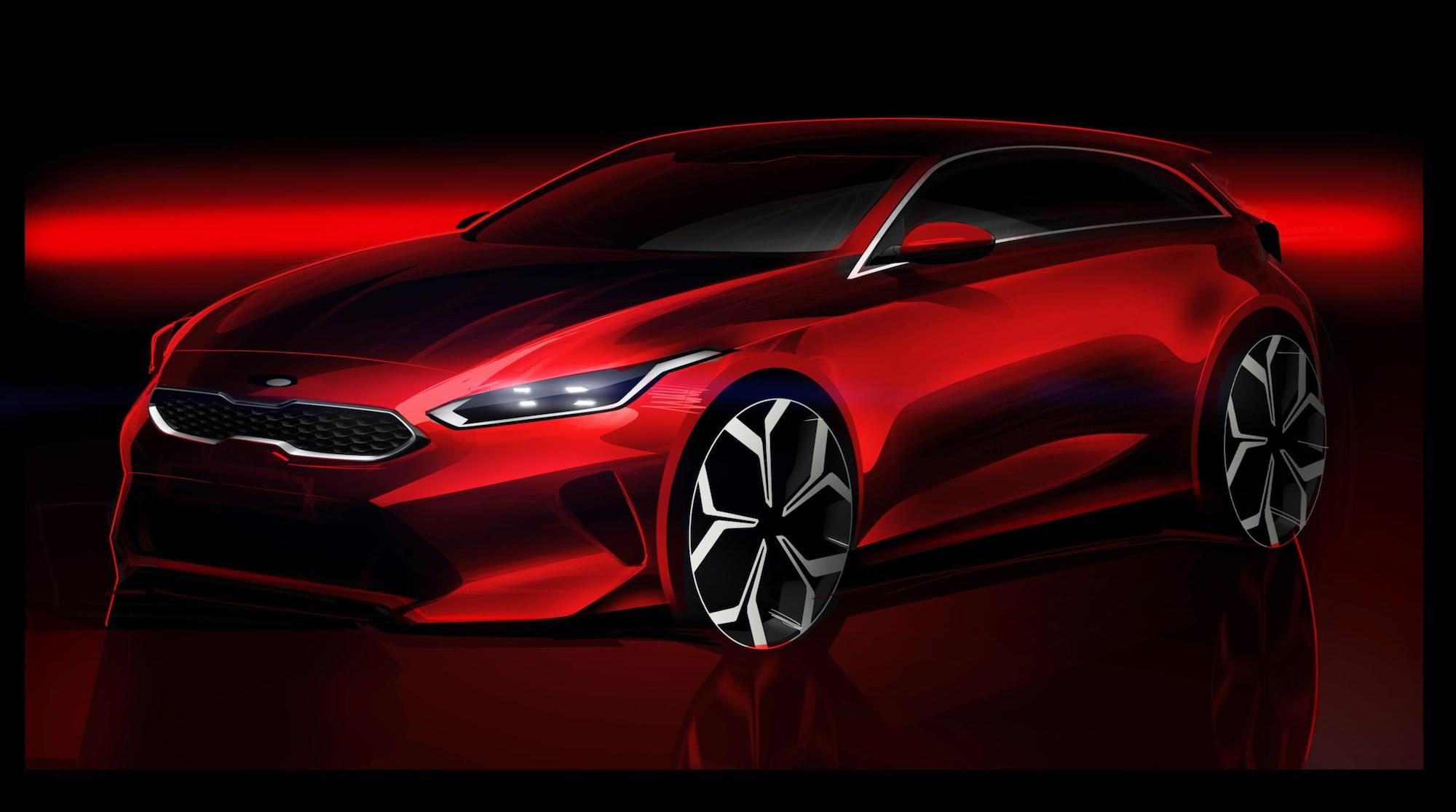 Kia Ceed teased ahead of Geneva Motor Show reveal
