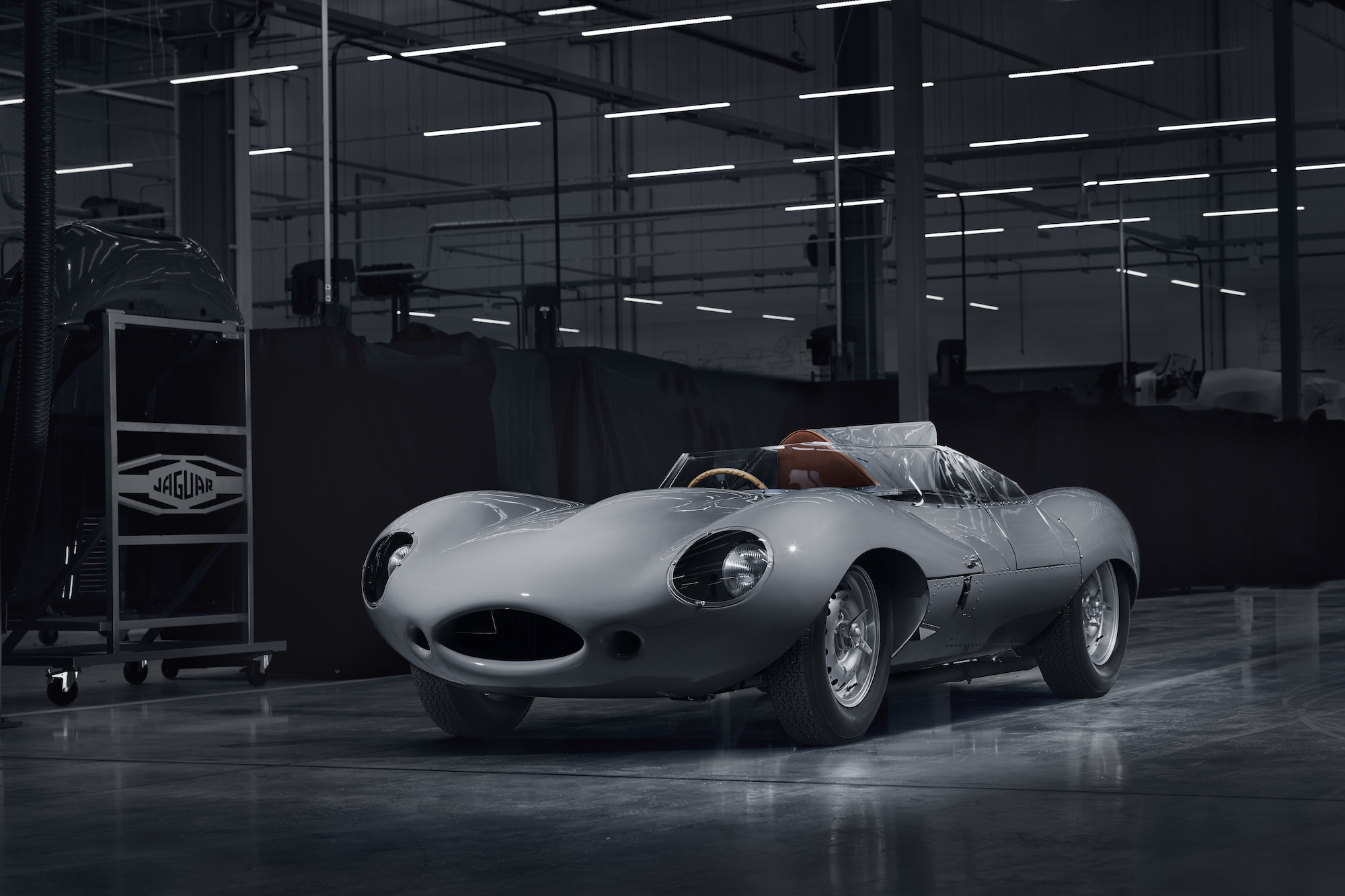 JLR Classic is Building Brand New Jaguar D-Type Continuation Cars