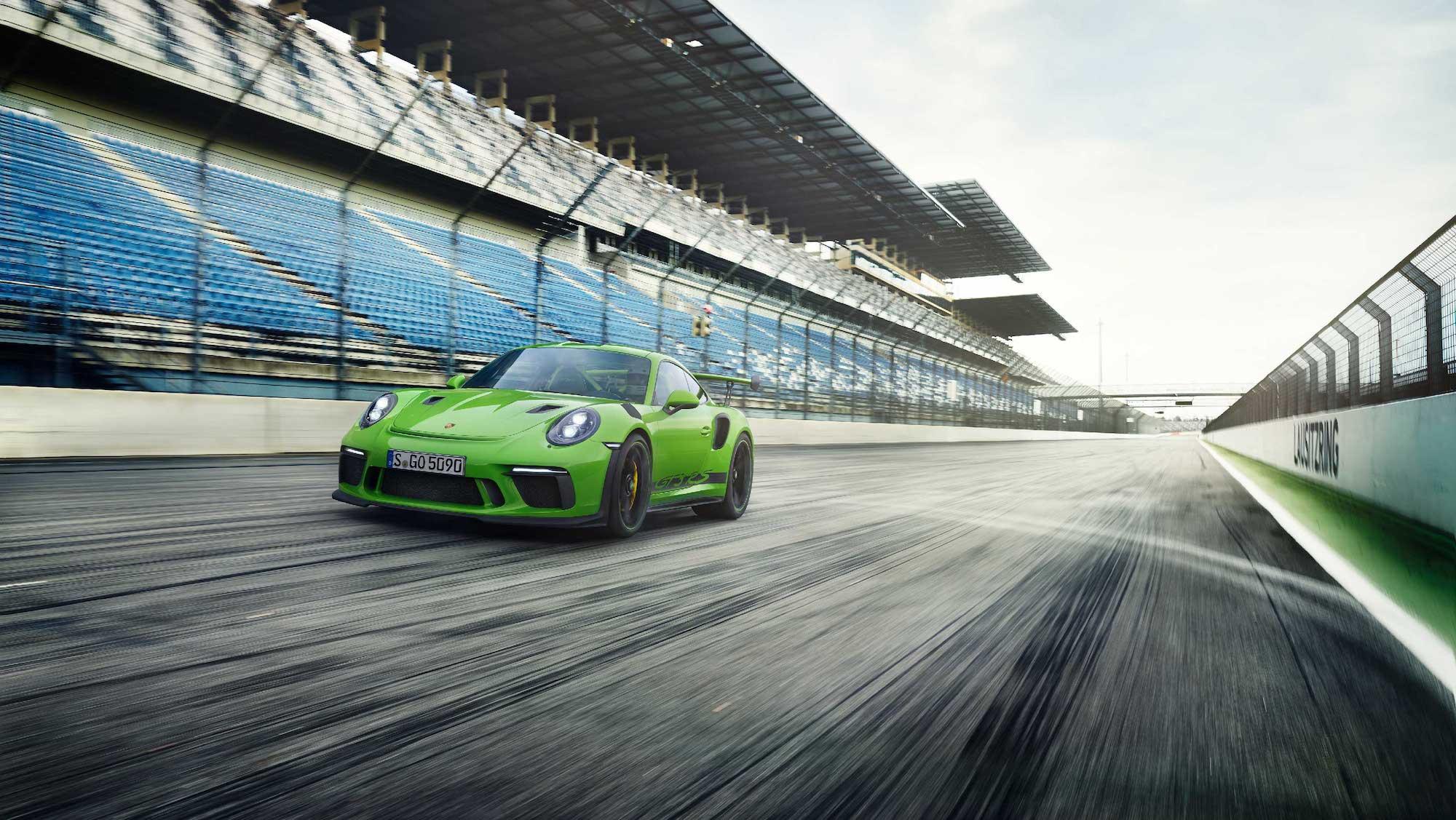 This is the new Porsche 911... sort of