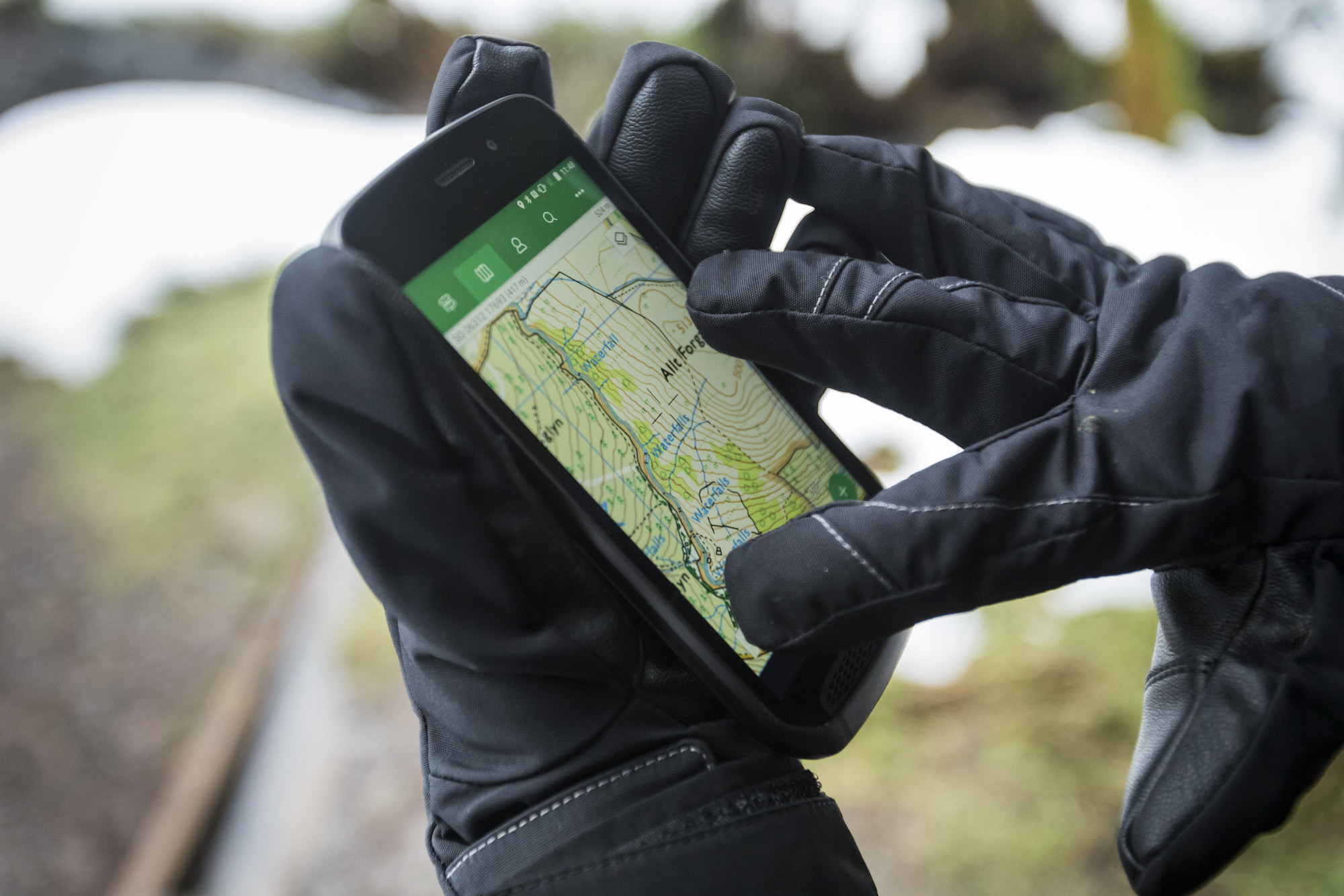 Land Rover unveils its new Explore smartphone