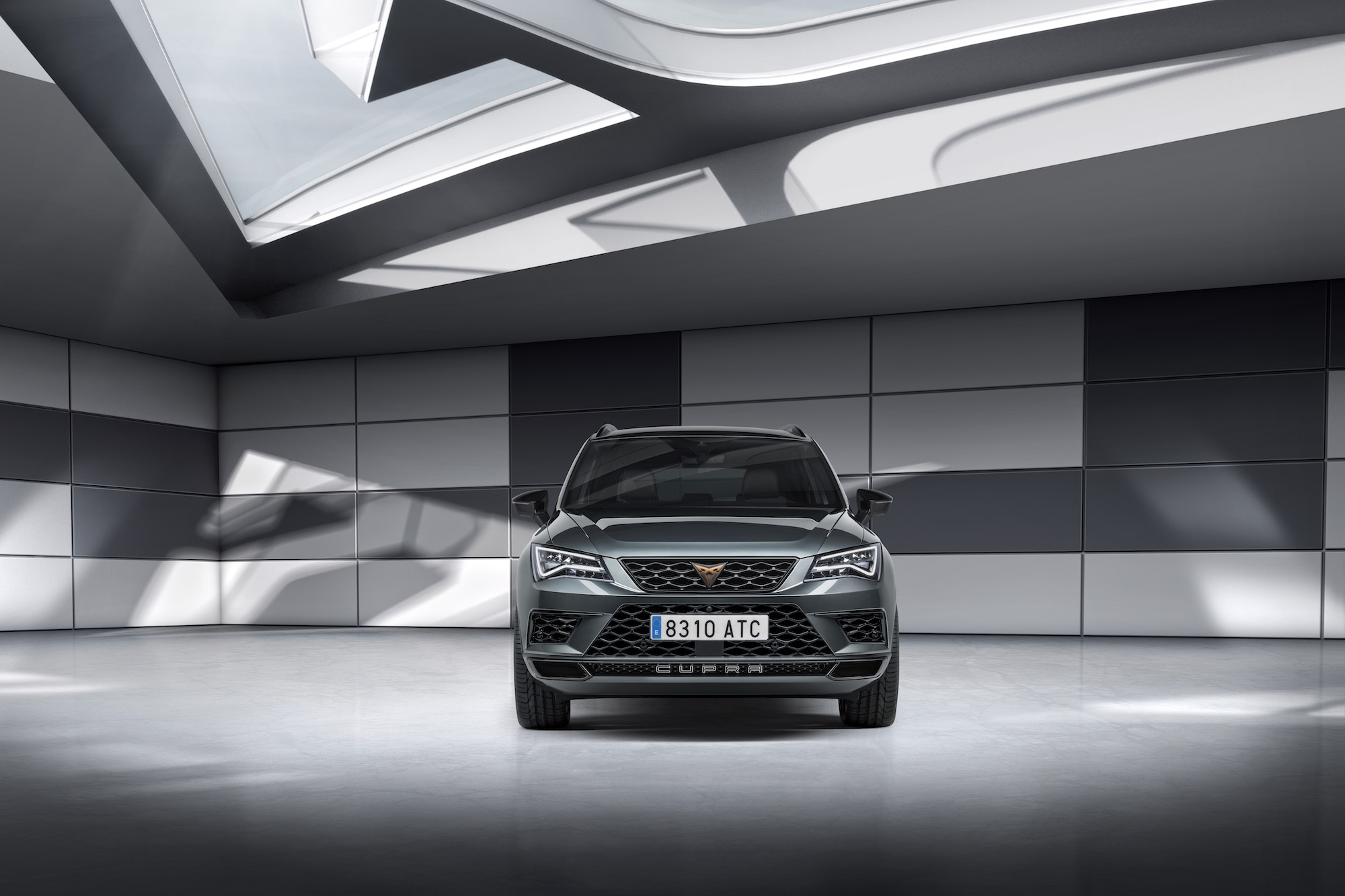 SEAT's performance brand kicks off its range with new sporty Ateca