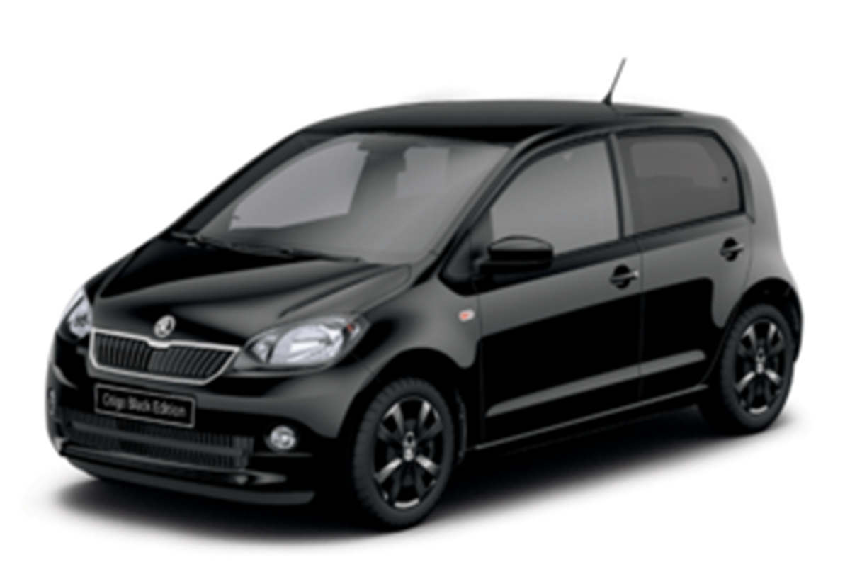 skoda citigo black edition on sale now car keys. Black Bedroom Furniture Sets. Home Design Ideas