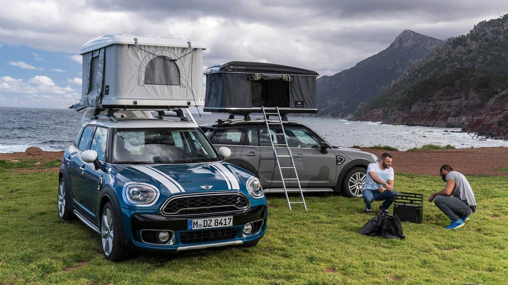 Turn your MINI into a c&ervan with this incredibly nifty folding roof tent & Turn your MINI into a campervan with this incredibly nifty folding ...