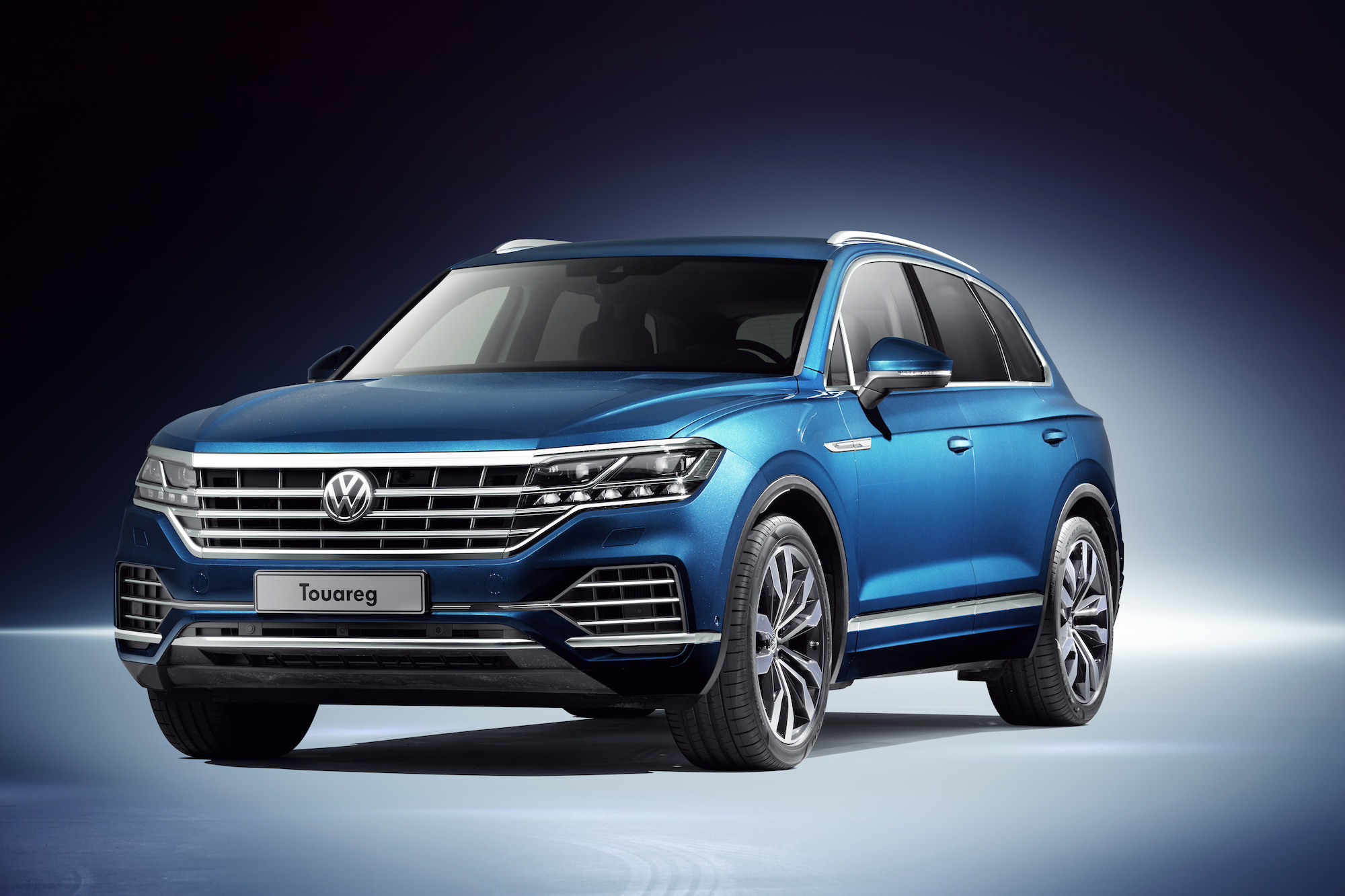 The new Touareg is VW's most advanced vehicle yet