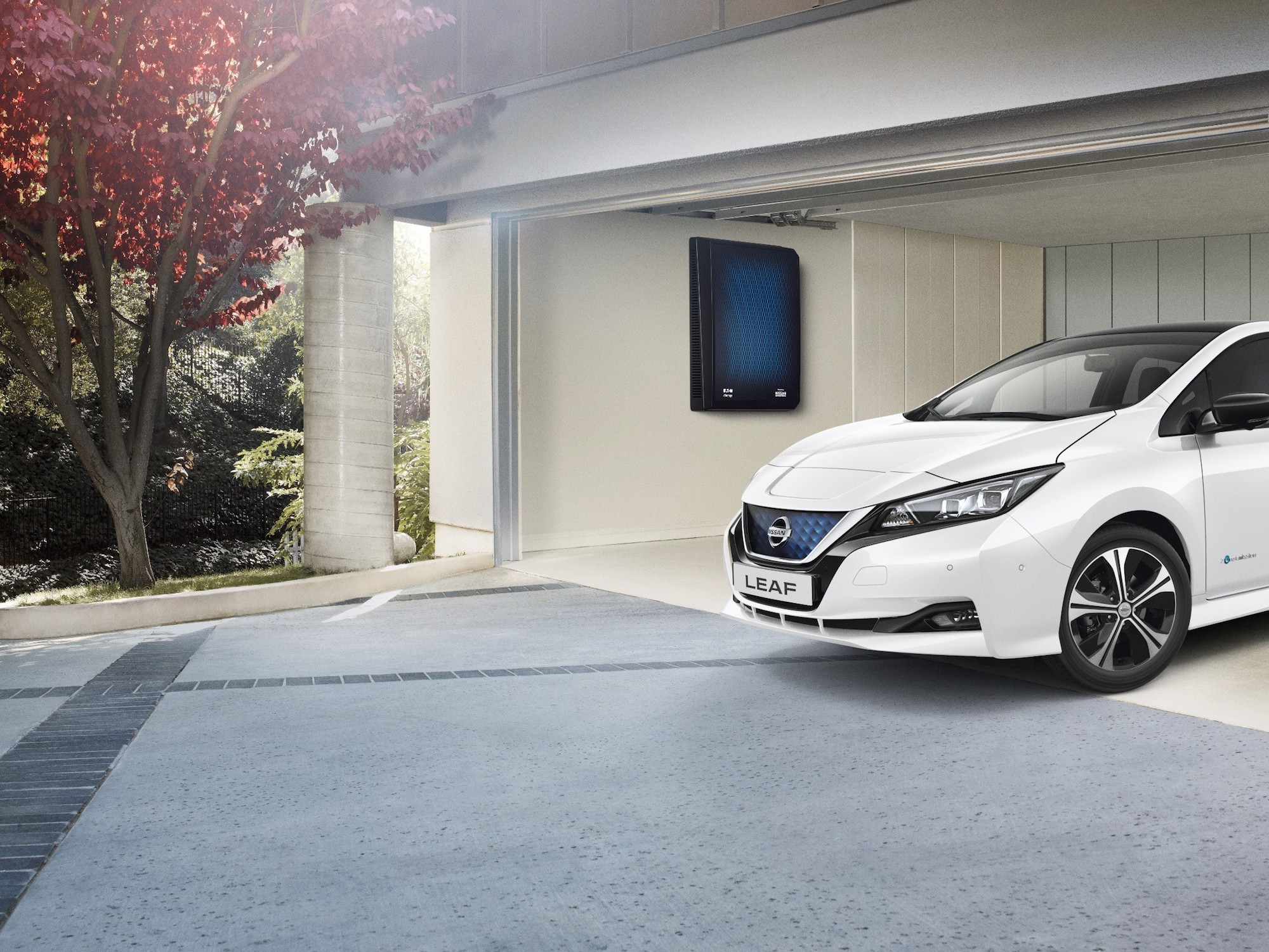 Nissan Launches Solar+Storage in the UK
