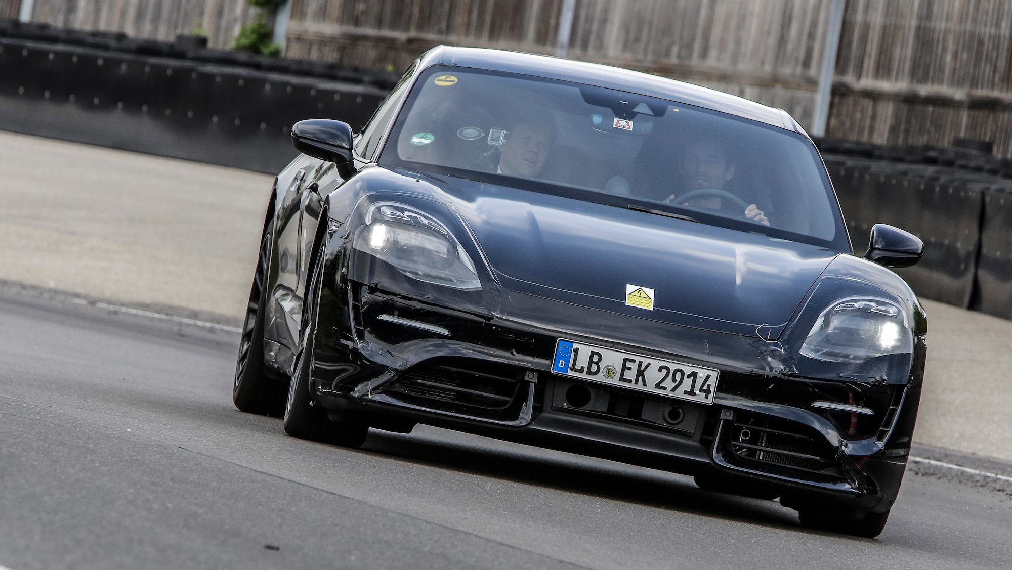 2019 Porsche Mission E Prototype All Electric Sports Car