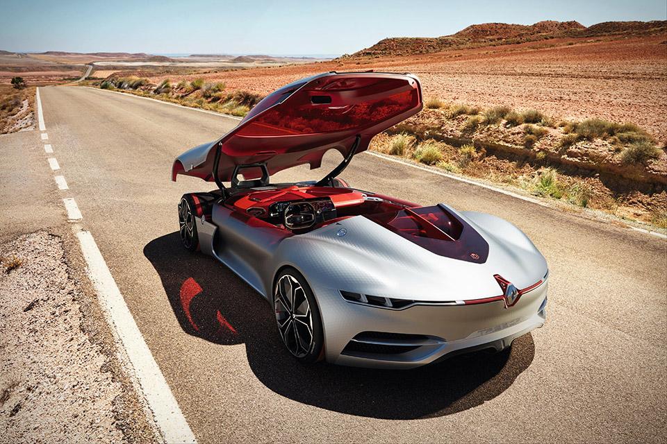 Renault Trezor Wins Best Concept Car Design Honour Car Keys
