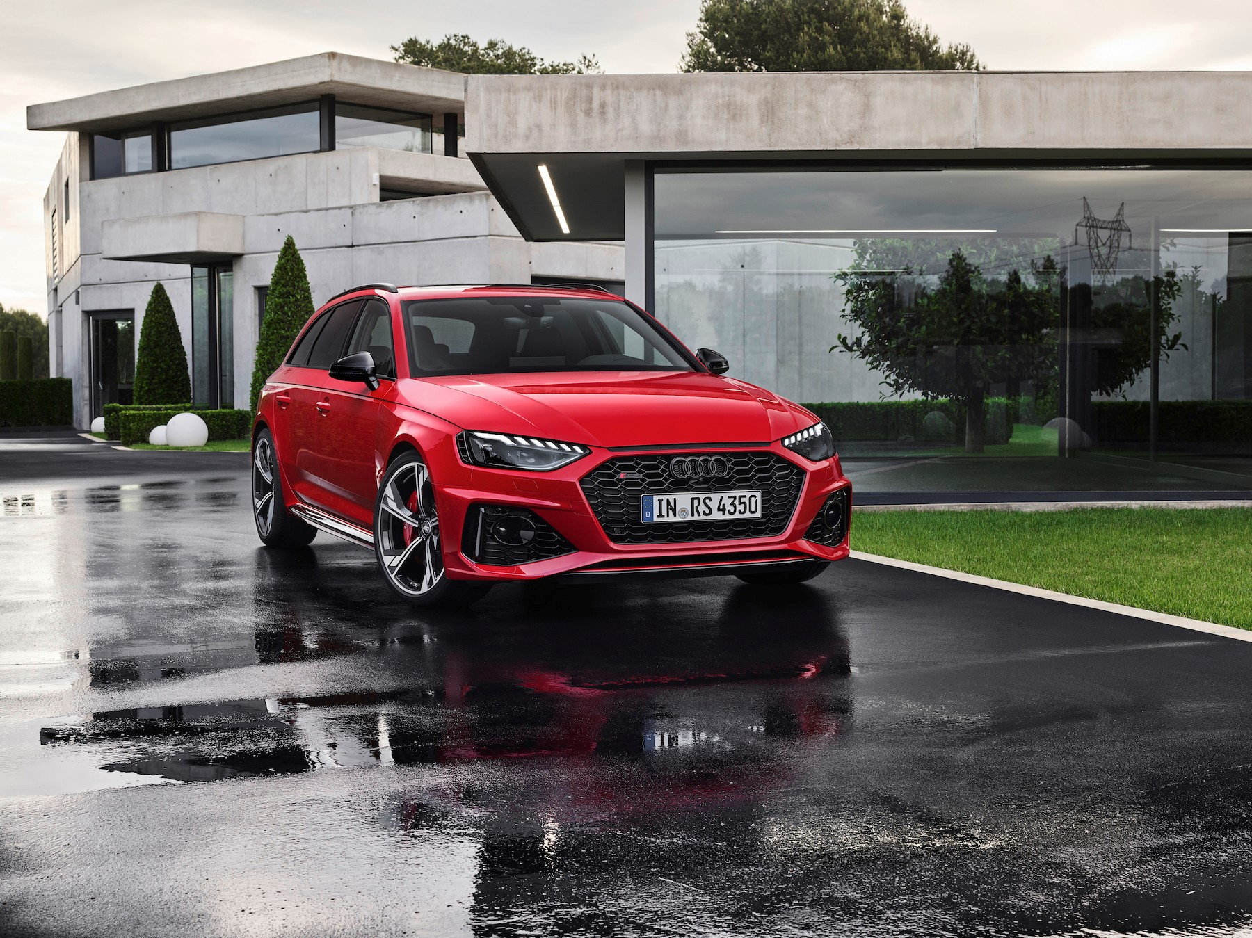 facelifted 2020 audi rs4 unveiled