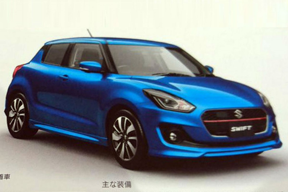 all new suzuki swift unveiled in japan swift sport to follow car keys. Black Bedroom Furniture Sets. Home Design Ideas