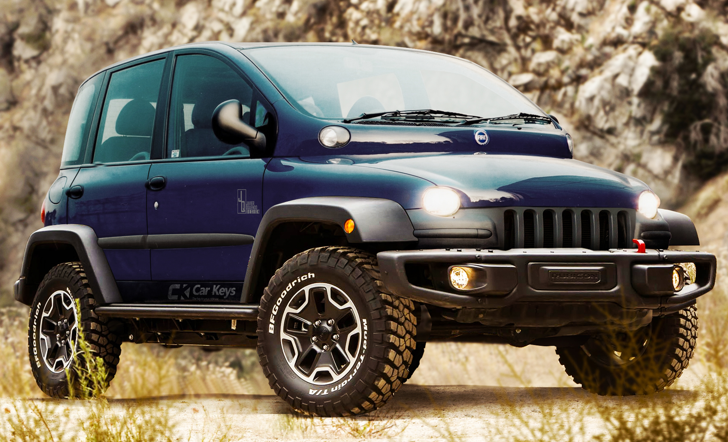 Wrangler Jeep Inside >> These Are the Most Ridiculous Car Mashups You'll Ever See - Car Keys
