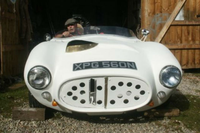 The Project Wasnu0027t Started Until Late In 2013 As He Previously Struggled To  Walk Thanks To The Canceru0027s Effect, But The Car U2013 Dubbed The Scot Special U2013  Is ...