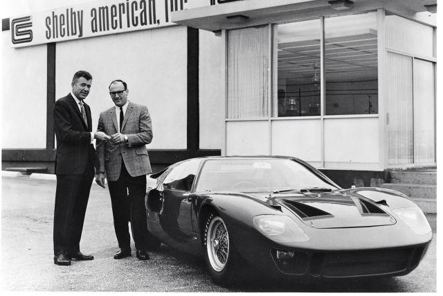 Henry Ford Ii Enzo Ferrari