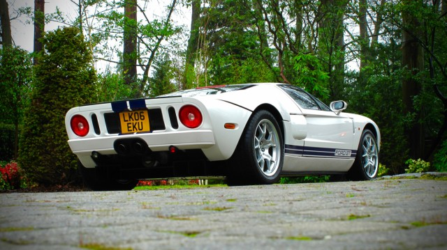 The Ford Gt Was Produced Between  As A Spiritual Successor To The Legendary Gt Race Car This Road Legal Supercar Was A Rarity In Britain And