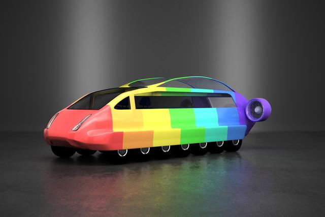 Kid S Car Drawing Made A Reality Car Keys