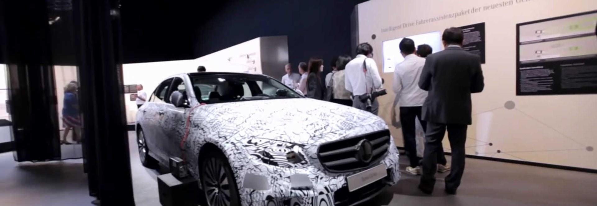 Mercedes previews cutting edge new e class tech car keys for Cutting edge technology news