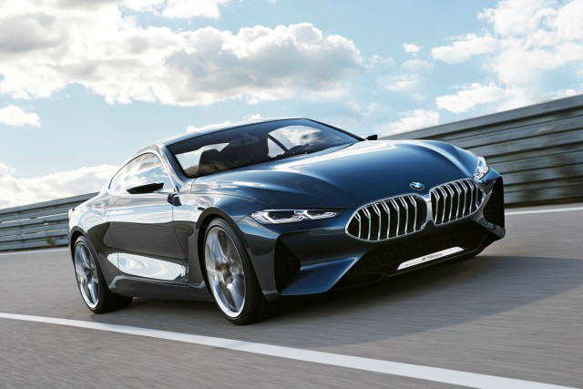New BMW 8 Series teased via striking new concept car - Car Keys