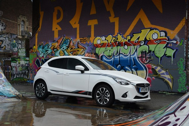new mazda2 sport black edition unveiled car keys. Black Bedroom Furniture Sets. Home Design Ideas