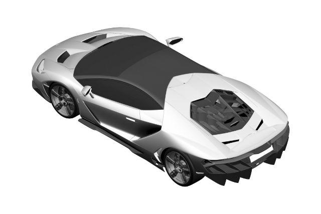 New Photo Offers First Look At New Lamborghini Centenario Car Keys