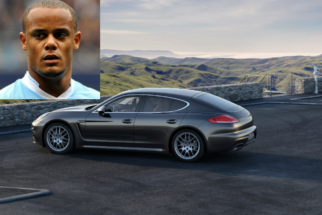 Photo of Vincent Kompany Porsche Panamera 4S - car